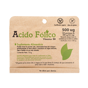 Acido Folico Vitamina B9 - Dulzura Natural