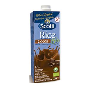 Alimento Liquido de Arroz Chocolate Orgánico - Riso Scotti