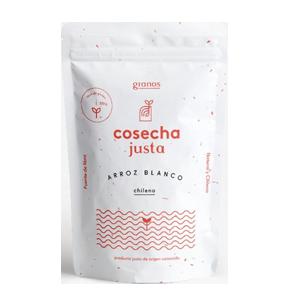 Arroz Blanco 600G - Cosecha Justa