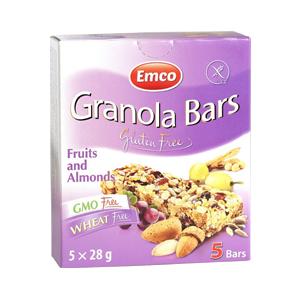 Barras de Granola Frutas y Almendra - Emco
