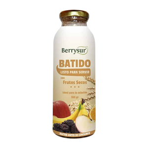 Batido de Frutas con Frutos Secos 300g - Berrysur