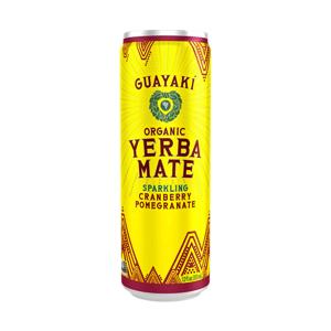 Bebida de yerba mate cranberry pomegranate - Guayaki