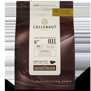 Callebaut 811 - 1 kilo-54,5% cacao