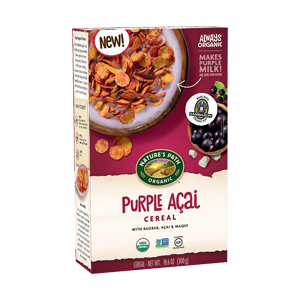 Cereal acai purpura orgánico 300g