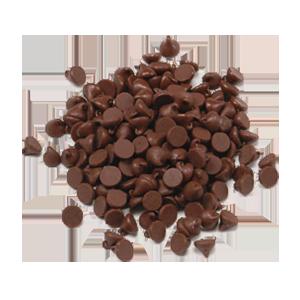 Chips de chocolate bitter suave 250g - El Huerto