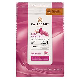 Chocolate Ruby 2,5 kilos - Callebaut