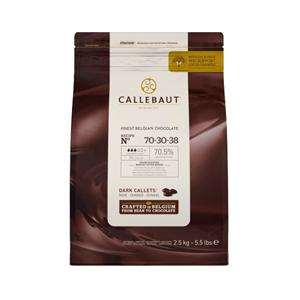 Chocolate cobertura 70% cacao 2.5kg - Callebaut