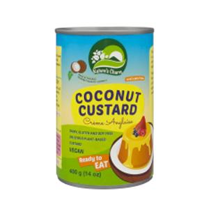 Crema vegetal de coco lista para comer - Nature´s charm