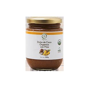 Dulce de Coco Organico con Piña 200 grs - Be Organics