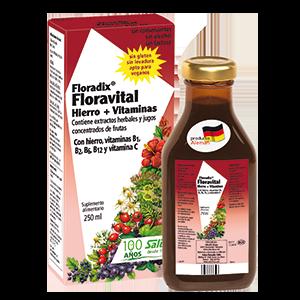 Floradix Floravital Jarabe 250ml - Salus