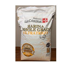 Harina Integral Whole Grain 25kg