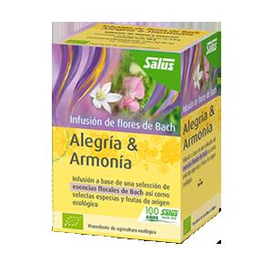Infusion de Flores de Bach Alegria y Armonia - Salus