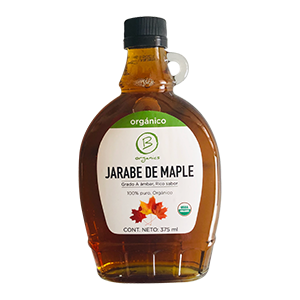Jarabe de Maple Organico 375 ml - Be Organics
