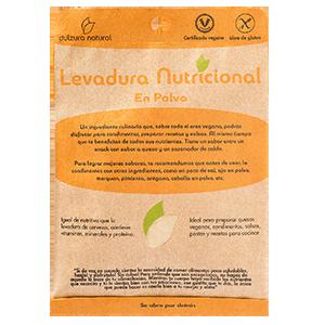 Levadura Nutricional En Polvo 100grs - Dulzura Natural