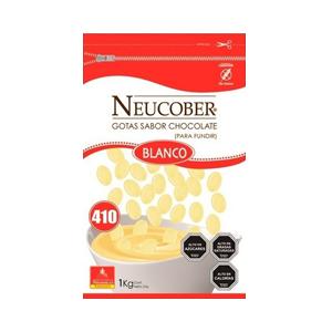Monedas de Chocolate Sucedaneo Blanco - Neucober