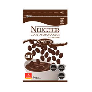 Monedas de Chocolate Sucedaneo Semibitter - Neucober
