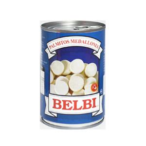 Palmitos rebanados 800g - Belbi