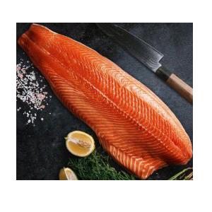 Salmón filete pieza 1,2 a 1,5 kilos aprox