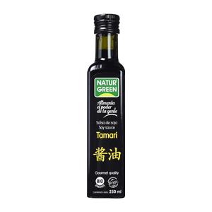 Salsa de soya tamari orgánica 250ml - Naturgreen