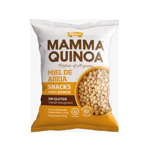 Snack de Quinoa sabor Miel de Abeja 30g - Mamma Quinoa