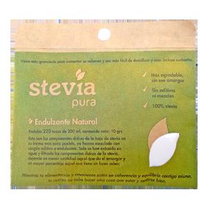 Stevia En Polvo Pura 10G - Dulzura Natural