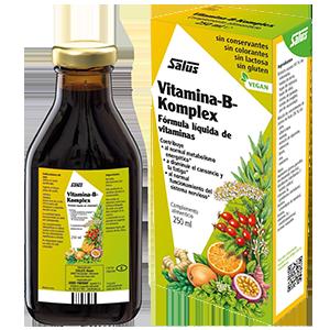 Vitamina-B-Komplex Jarabe 250ml - Salus