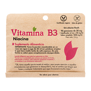Vitamina B3 - Dulzura Natural