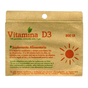 Vitamina D3 5G - Dulzura Natural