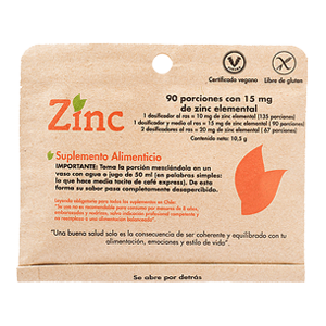 Zinc - Dulzura Natural